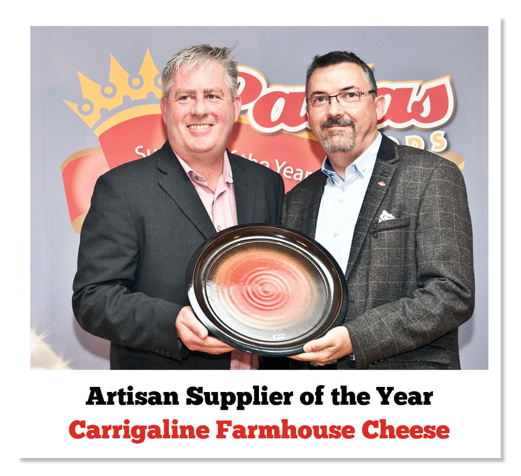 Padraig O'Farrell (Carrigaline Cheese) & Patrick Clement (Pallas Foods)