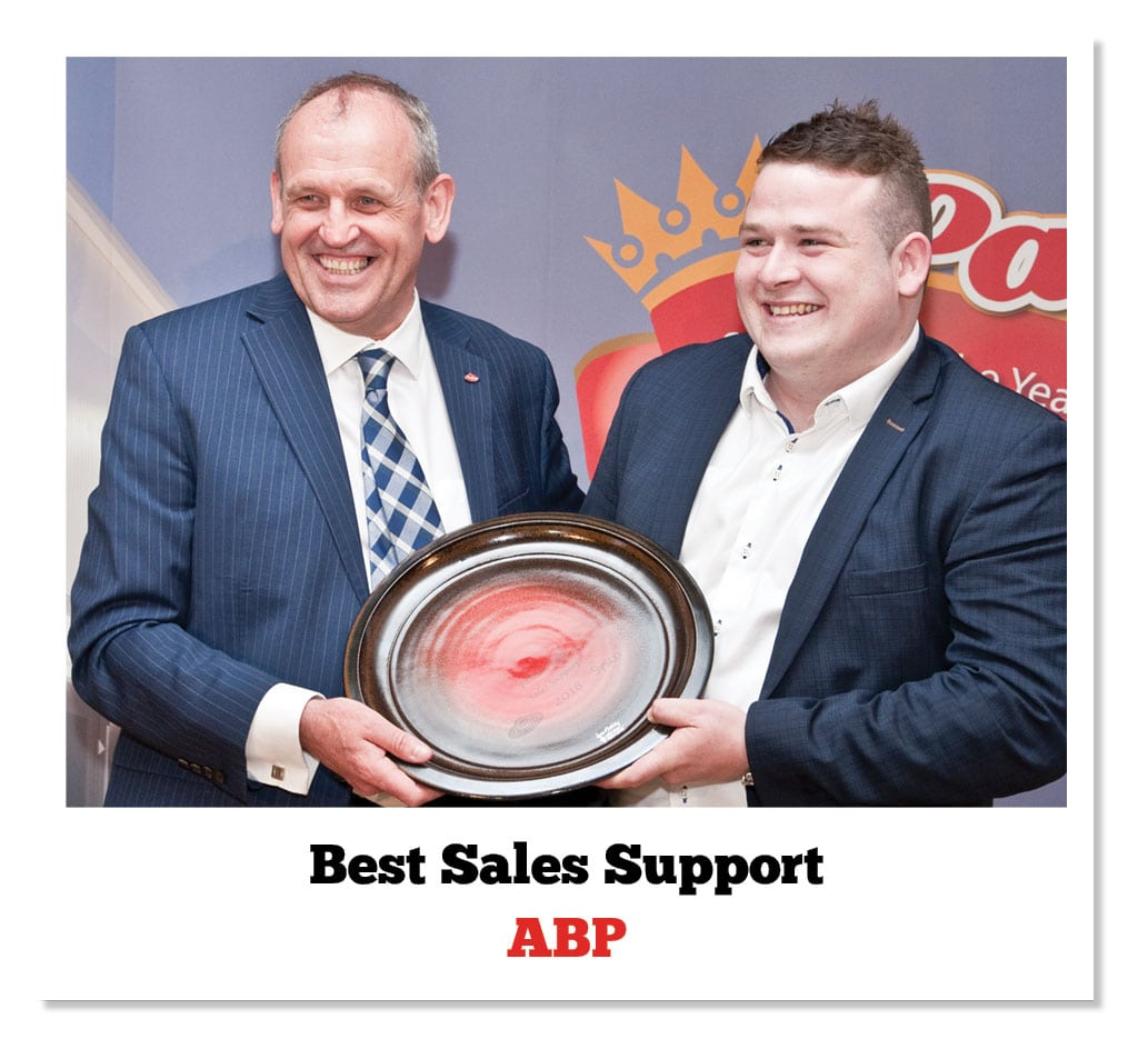 Barry Brennan (Pallas Foods) & Shane Divilly (ABP)