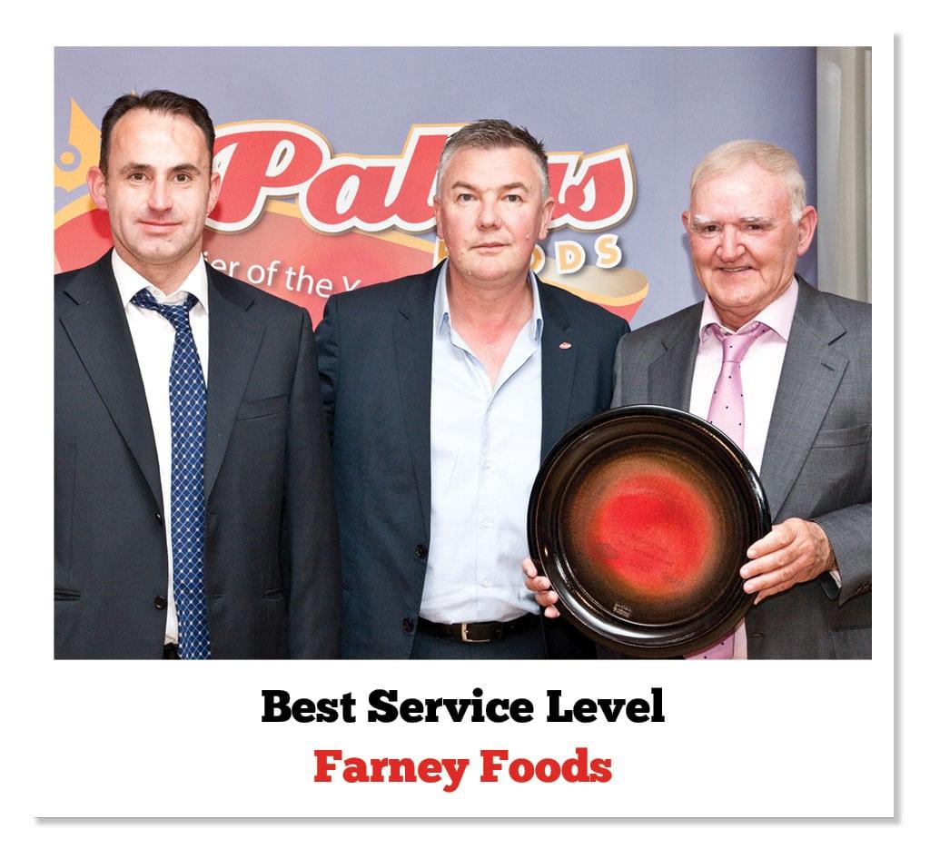 Kenneth Farney (Farney Foods), Ian Smith (Pallas Foods) & Brendan Farney (Farney Foods)