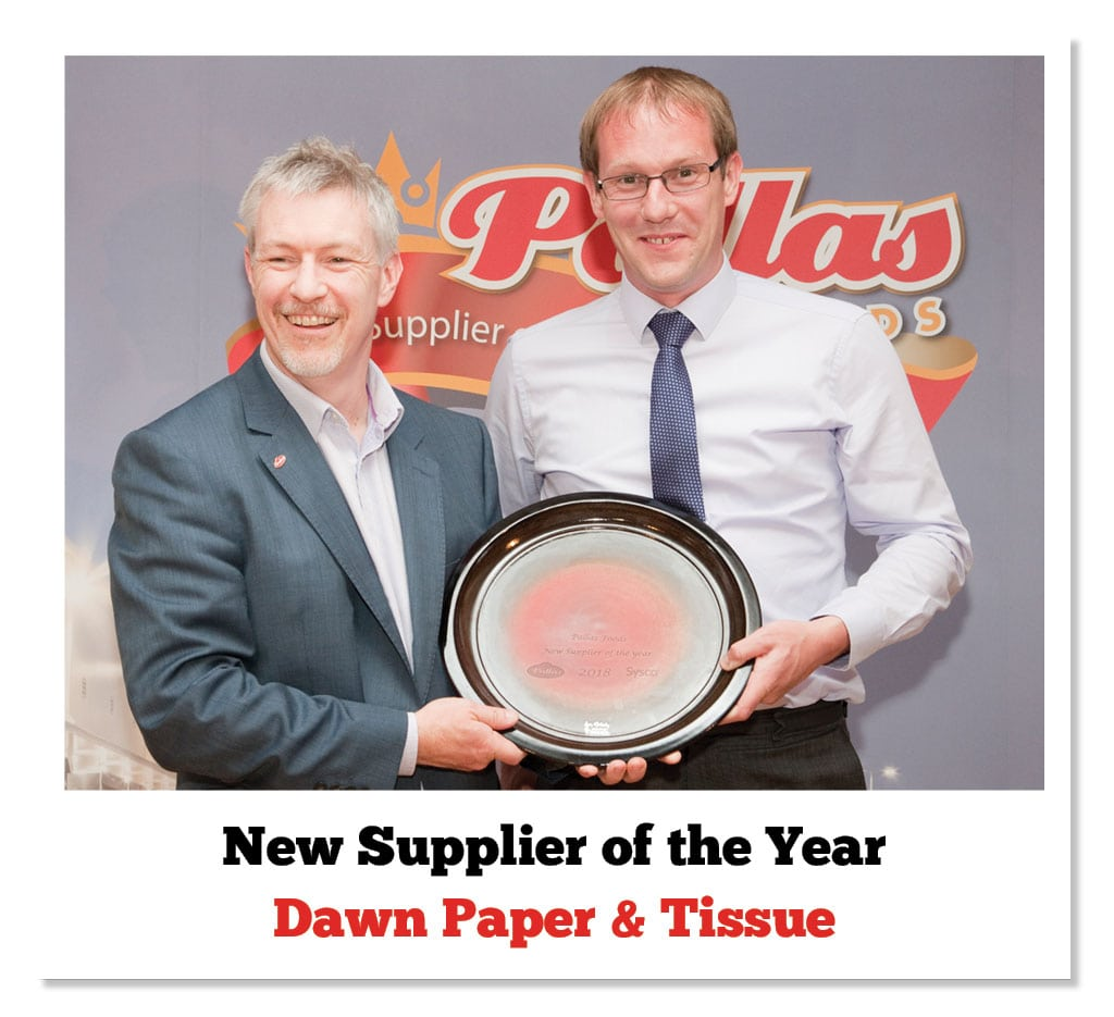 David McLelland (Pallas Foods) & Shane McEnteggart (Dawn Paper)