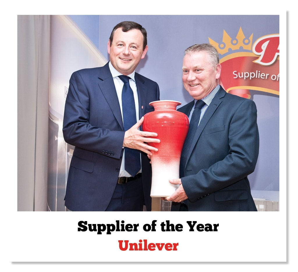 Peter Jackson (Pallas Foods) & Fergus Scully (Unilever)